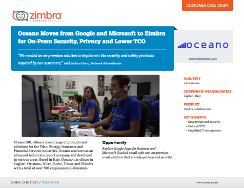 Replace Exchange 2007 with Zimbra