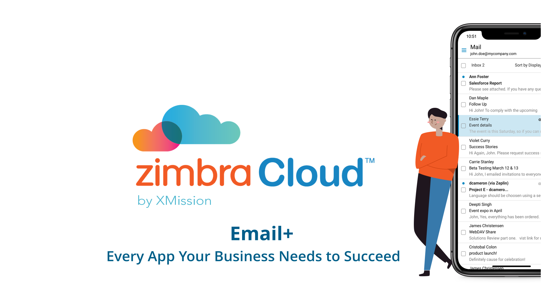 Zimbra Cloud Trial by Xmission